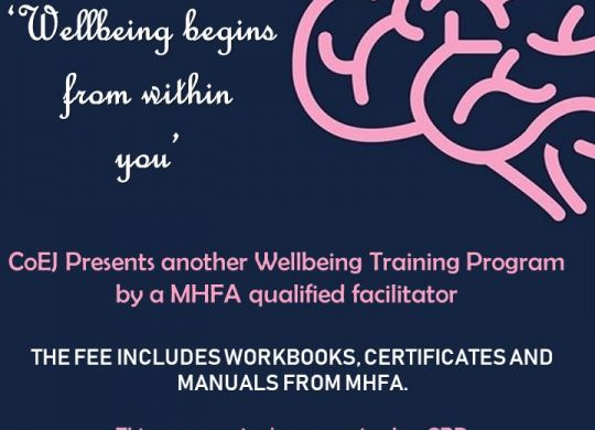 wellbeing session 2 poster